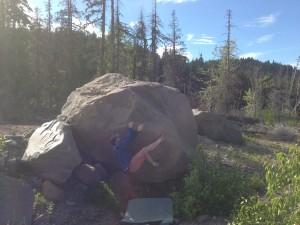 boulders near Hood River