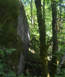 The gorge bouldering
