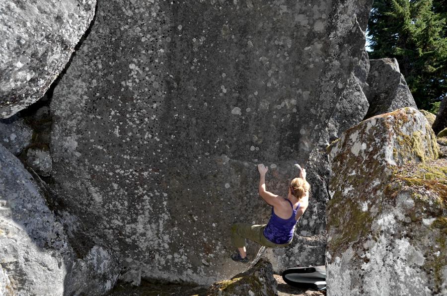 Mount Hood Bouldering
