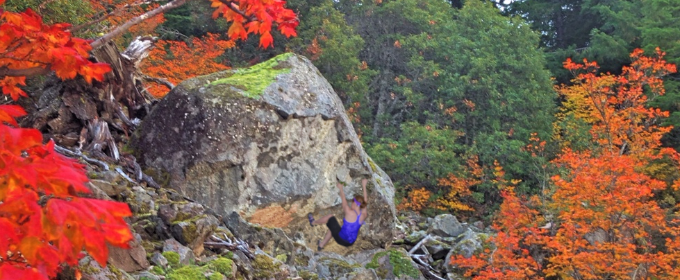 columbia river gorge bouldering