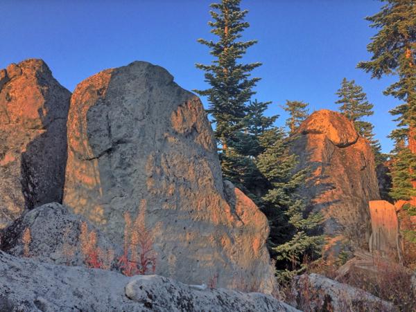 Mt Hood bouldering